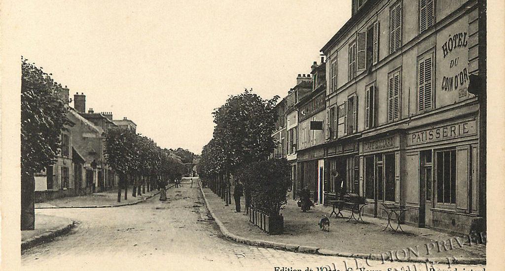 D'hier à Aujourd'hui – Savigny sur Orge – Rue du Mail