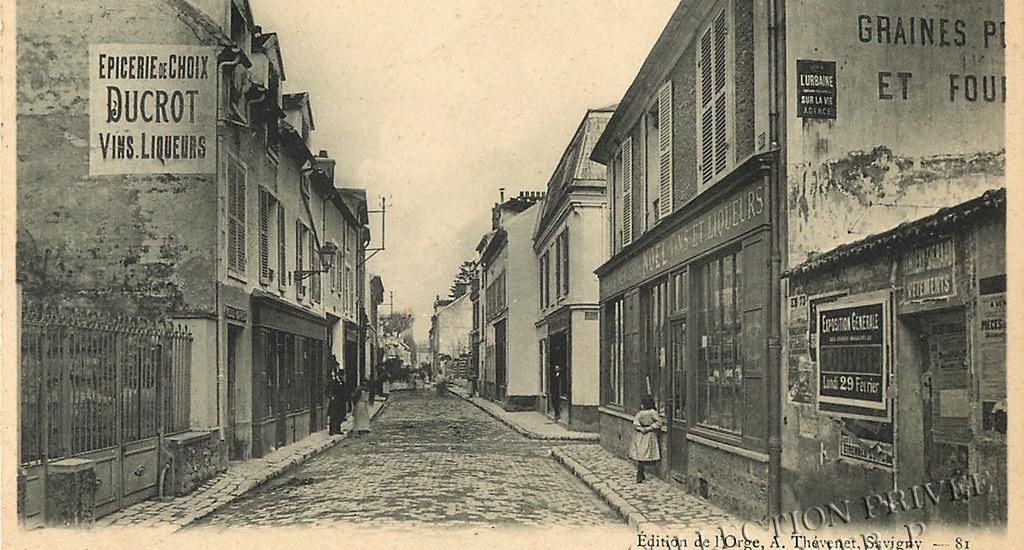 D'hier à Aujourd'hui-Savigny sur Orge – La Grande Rue