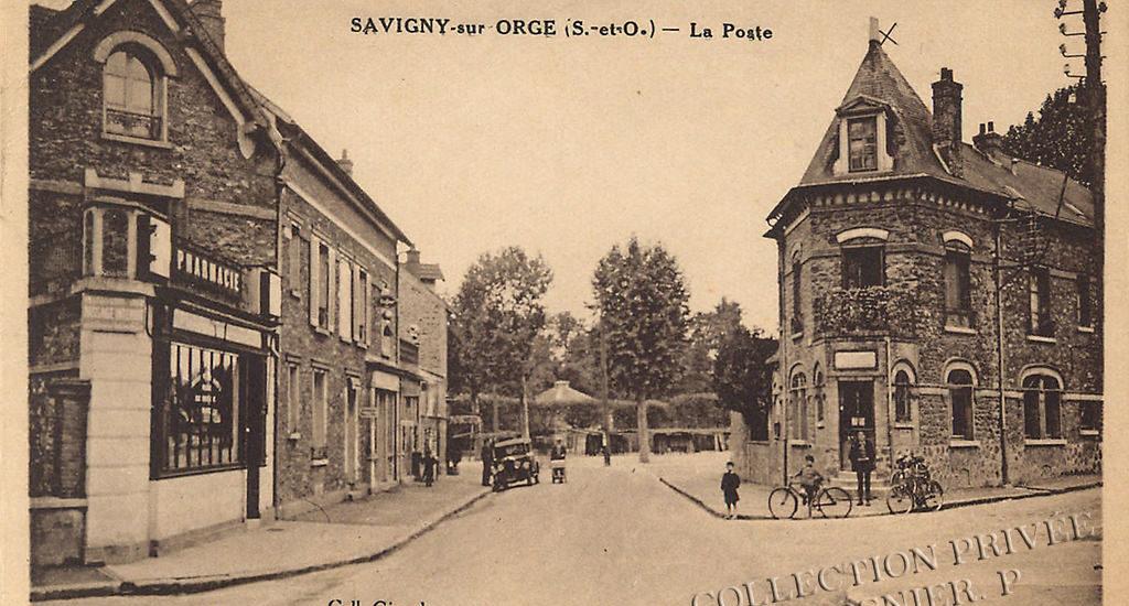 D'hier à Aujourd'hui – Savigny sur Orge – La Poste