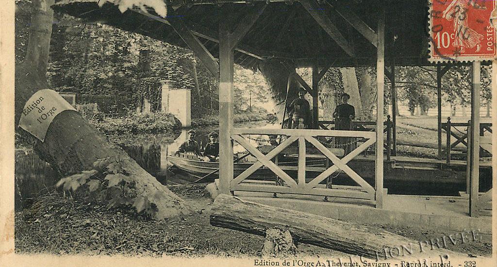 Savigny-sur-Orge – L'Orge – Un Embarcadère