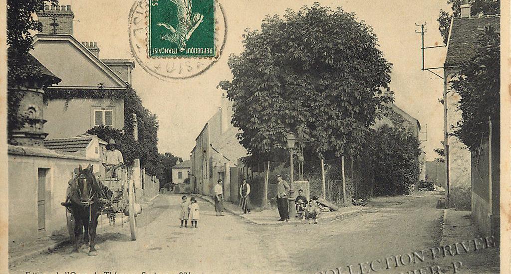 D'hier à Aujourd'hui-Savigny sur Orge – Grandvaux – la Croix