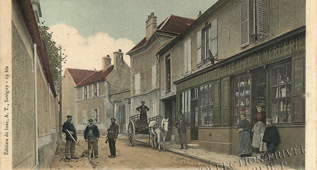D'hier à Aujourd'hui–Savigny sur Orge – Rue de Grand-Vaux