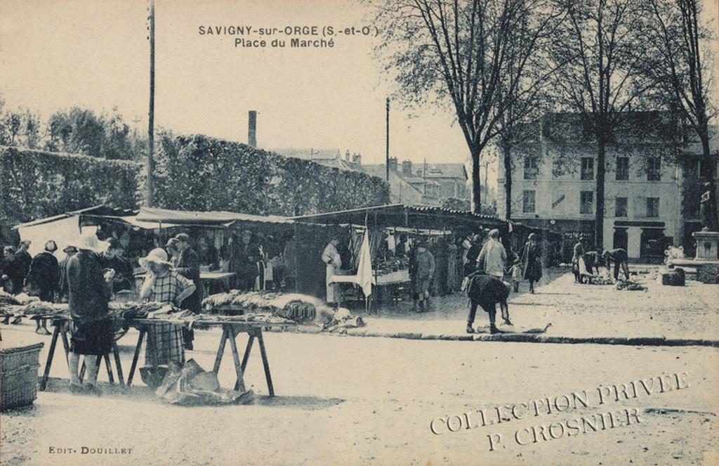 Savigny-sur-Orge - La place du Marché