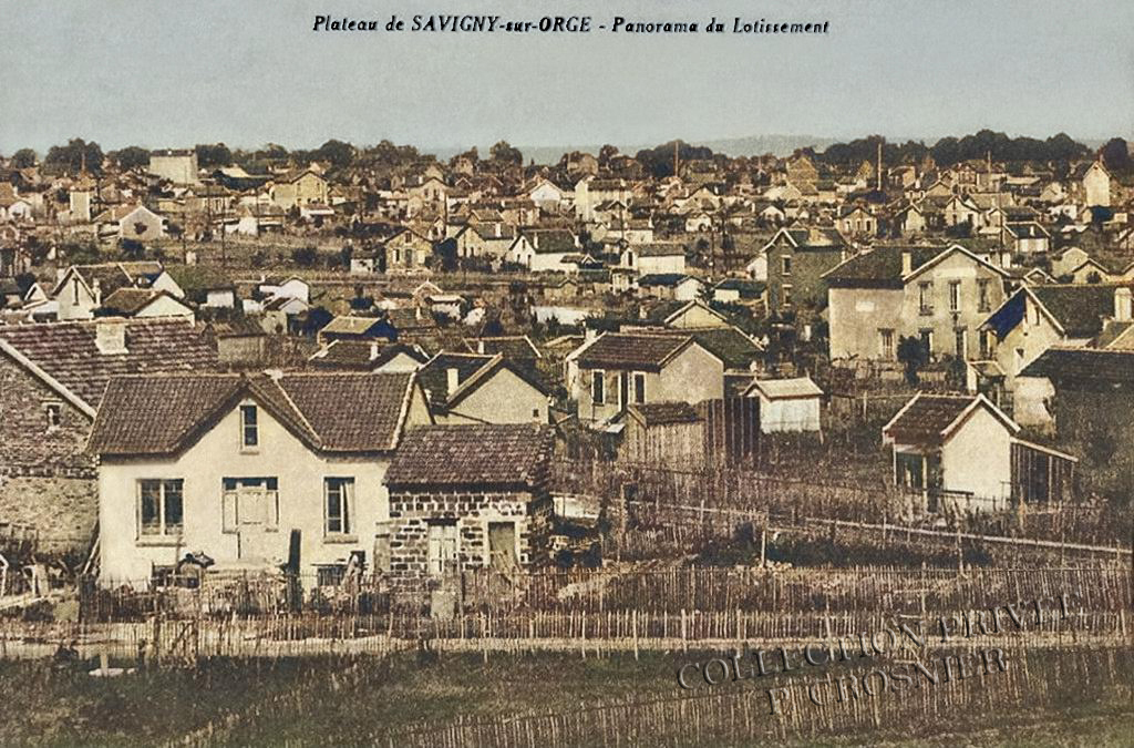 Plateau de Savigny-sur-Orge - Panorama du lotissement